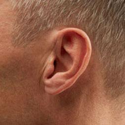 audifono IIC en oreja