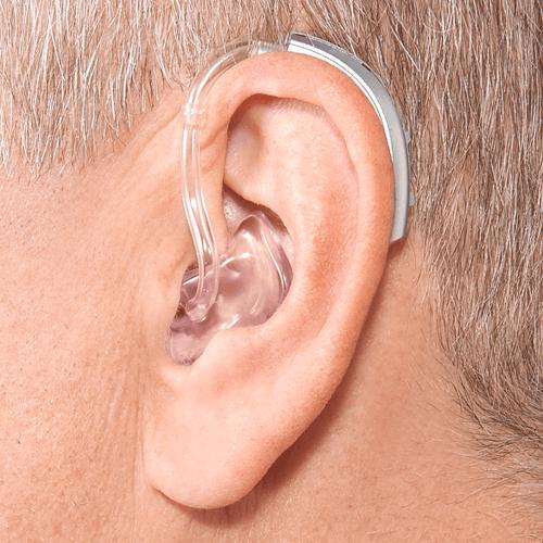 audifono BTE power en oreja